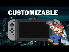 You can customize your switch Pc Gamer, Xbox, Videogames, Nintendo, Gaming, Funny, Anime, Video Games, Funny Parenting