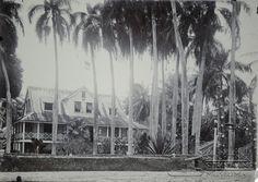 Commissariaat Coronie te Tottnes.   Datum: Locatie: Coronie, Suriname Vervaardiger:  Inv. Nr.:  57/2-16 Fotoarchief Stichting Surinaams Museum