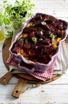 Unser beliebtes Rezept für Shepherd's Pie mit Gulasch und mehr als 55.000 weitere kostenlose Rezepte auf LECKER.de.