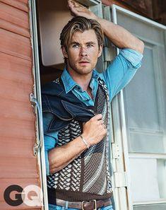 """""""Ter uma família"""" é o que mais assusta, diz Chris Hemsworth"""