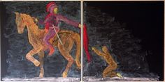 Age 08 ~ Saint Stories ~ St. Martin ~ chalkboard drawing