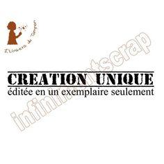 Création unique