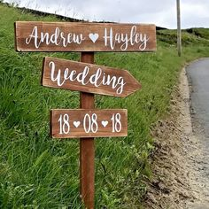 Large rustic wedding this way sign. Personalised wedding venue decoration. Good quality sign. We design and hand make all of our products from start to finish. Each item is individually hand crafted so no two will look exactly the same. | eBay!