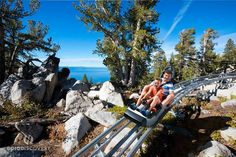 Imagine a roller coaster ride that not only gives you the thrill of a lifetime, but that takes you through the jaw dropping beauty of the Sierra Nevada also