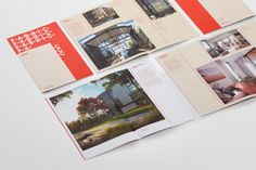 Brand identity and brochure by Richards Partners for Auckland residential development Fabric of Onehunga Poster Layout, Print Layout, Graphic Design Projects, Graphic Design Inspiration, Print Design, Design Ideas, Book Cover Design, Book Design, Visual Identity