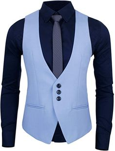 HRYfashion Mens Modern Slim Fit Three-button Tailored Vest at A Stylish Mens Fashion, Mens Fashion Suits, Mens Suits, African Dresses Men, African Clothing For Men, Mens Kurta Designs, Waistcoat Men Casual, Gilet Costume, Formal Men Outfit