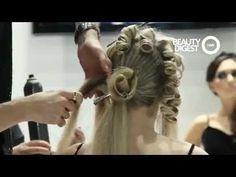 Georgy Kot Hair tutorial. Rose. - YouTube