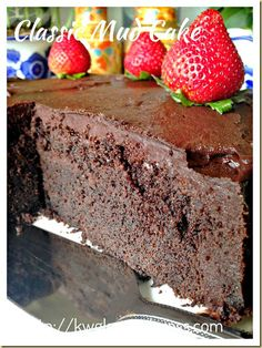 Rich and dense Chocolate Mud Cake