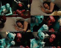 Hellboy and Liz, aka: the best romance ever!