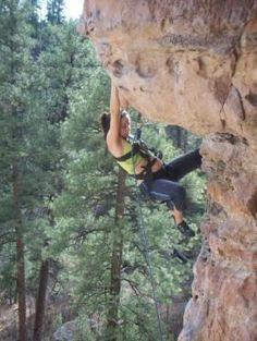 pregnant climber :)