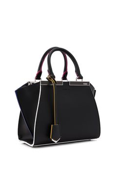 Fendi 3Jours Mini Shopping Bag Nero (Designer Colour) - FENDI