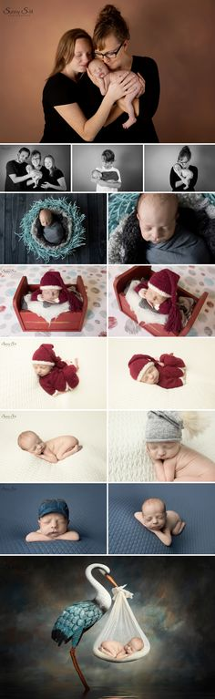 8 day old Nolan and the story of how he entered the world by surrogate.  Sunny S-H Photography Winnipeg