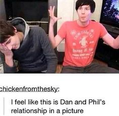 Dan and Phil's relationship
