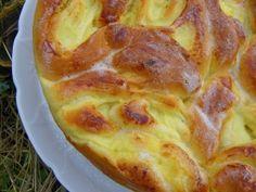 """j'ai trouvé cette recette sur le blog """" Couleur de vie """" Ingrédients : pour la pâte à brioche - 100 ml de lait - 15 g de levure - 2 oeufs - 50 g de sucre en poudre - 90 g de beurre - 400 g de farine pour la crème pâtissière - 600 g de lait - 35 g de farine..."""