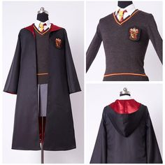 Cosplay De Harry Potter · Kids Gryffindor Robe Uniform Hermione Granger  Cosplay Costume Child Version Disfraces 5830d933e366