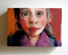 Sofia / Tiny canvas print -wall decoration - girl face art print on canvas- wall hanging Oil Pastel Colours, Art Painting, Face Art, Canvas Prints, Drawing Illustrations, Painting Inspiration, Art, Canvas Print Wall, Portraiture Art