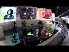 ▶ Motion Tracking Interactive LED Floor - YouTube