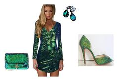 """emerald"" by mskillgalore ❤ liked on Polyvore featuring Alix and Deux Lux"
