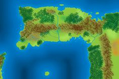 Anywhereland map (Northern Archa) by ~TwelveArts on deviantART