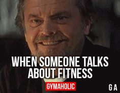 When Someone Talks About Fitness