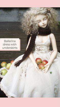 Yalki Palki Bespoke clothing for Ball Jointed Dolls Open for commissions Bespoke Clothing, Ballerina Dress, Ball Jointed Dolls, Flower Girl Dresses, Wedding Dresses, Clothes, Instagram, Fashion, Tall Clothing