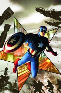 Captain America - Steve McNiven