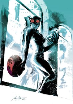 Selina at work by •Rafael Albuquerque