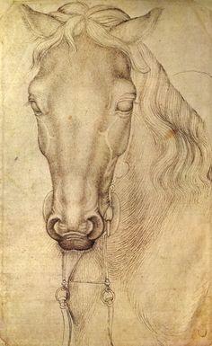 Dibujo de Pisanello, s. XV Louvre