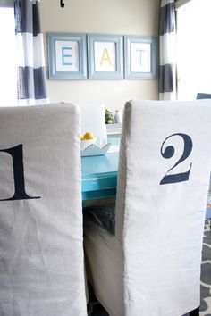 Making your own Parson Chair Slipcovers is easy! Easier than you think, And I'm going to show you how. Supply List: *2.5 ...