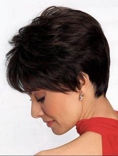 Today we have the most stylish 86 Cute Short Pixie Haircuts. We claim that you have never seen such elegant and eye-catching short hairstyles before. Pixie haircut, of course, offers a lot of options for the hair of the ladies'… Continue Reading → Short Hairstyles For Thick Hair, Bob Hairstyles, Short Hair Cuts, Curly Hair Styles, Pixie Bob Haircut, Short Pixie Haircuts, Bob Haircuts, Pelo Color Caoba, Hair Cuts For Over 50