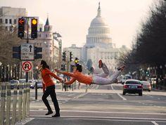Sun Chong photographed by Jordan Matter as part of his Dancers Among Us series (www.jordanmatter.com)