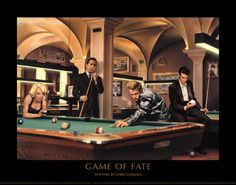Game of Fate by Chris Consani art print
