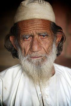 """Portrait - Muslim Man New Delhi"" by Evan McBride, via 500px - faces of the people"