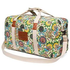 Colourful Plaid Sky Pattern Travel Carry-on Luggage Weekender Bag Overnight Tote Flight Duffel In Trolley Handle