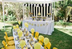 Bumble Bee themed birthday party via Kara's Party Ideas | The Place for ALL Things Party! KarasPartyIdeas.com #bumblebeeparty (7)