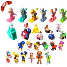 New 2016 Pop Spain Patrulla Canina Toys Collect