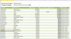 Best weddinget spreadsheet printable expense sheet example costs checklist planning small on tight wedding budget low Budget Spreadsheet Template, Wedding Budget Spreadsheet, Wedding Budget Planner, Wedding Expenses, Wedding Budget Worksheet, Event Planning Template, Wedding Picture Frames, Budgeting Worksheets, Living At Home