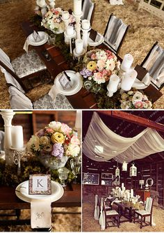 Gorgeous Barn Party - April, the fabric on the one pic would look great on the outside of your patio covering.