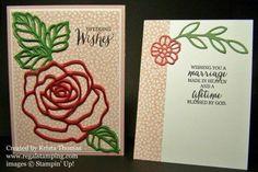 Rose Garden Stampin' Up! 2016 Occasions Catalog www.regalstamping.com