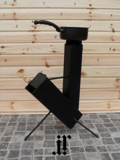 IR STOVE ROCKET STOVE / Camping stove