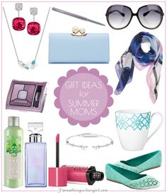 Pretty Mother's Day Gift Ideas for Summer Moms by 30somethingurbangirl.com // 13 pretty Mother's Day #giftideas for Summer seasonal color moms mostly under $100. Choose a light and cool colored eyeshadow or lipstick, a chic scarf or a classic scent perfume but you can find more tips in my post. Click and share. || #mothersday #mothersdaygift #mothersdaygiftideas #motherdaygiftguide #fashion #beautyproducts #coloranalysis #springfashion #lightsummer #coolsummer #softsummer #beautytips…