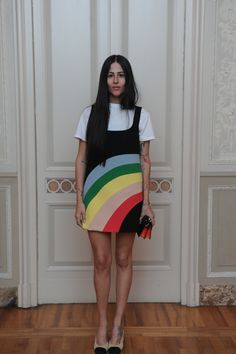 Gilda Ambrosio #Santoni4Women #Santoni #Santonishoes #SS16 #MFW #fashion #shoes
