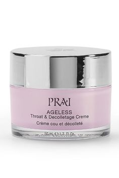 Our Prai Ageless Throat & Decolletage Creme is infused with prai extract once reserved for Thai royalty. It has a lovely velvety texture and absorbs quickly. It's fit for a queen!