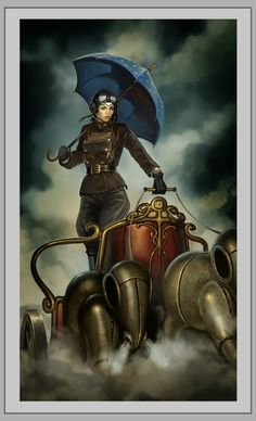 Steampunk Revue: Illustrazione