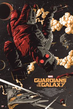 Guardians of the Galaxy Variant by Florey