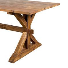 Eco-Teak Dining Table - Dot & Bo