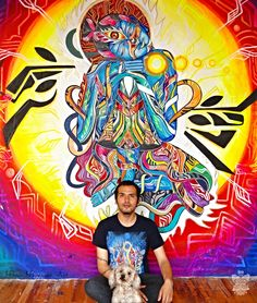 Manú Menéndez is an incredible artist operating out of Mexico and creating  marvelous, psychedelic imagery. Propelled by his intense connection to the  universal impetus (or the Divine Source),Manú has been producing wonderful  pieces that seem to be ripped directly from the primordial dreamscape.  Viewing himself as a child of life, he uses experience and passion to craft  these impeccable works.  Understanding that love is the ultimate unifier of human  consciousness,Manú is sure to…