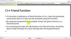 13-Aggregation Relationship in Classes and Friend Function Object Oriented Programming, Periodic Table, Public, Relationship, Education, Learning, Friends, Amigos, Periodic Table Chart