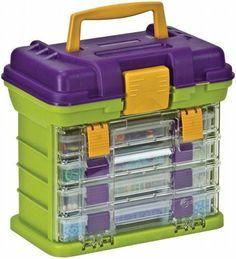 Creative Options 4 Drawer Loom Storage Arts & Crafts Supplies Organizer