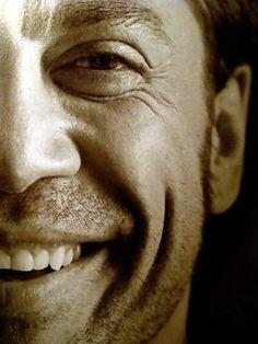 Javier Bardem. The lines around his eyes...perfect.